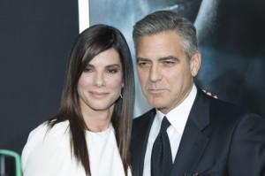 Sandra Bullock George Clooney-MSA-012911