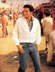 Elvis in jeans