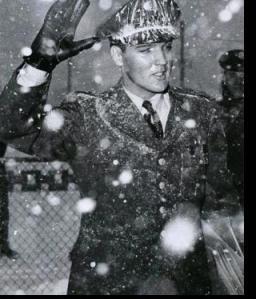 elvis military snow